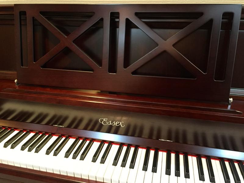 エセックスアップライトピアノEUP-116CTコンテンポラリー