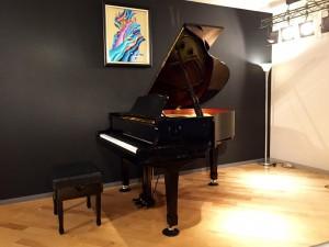 ファイネストサロンのグランドピアノ