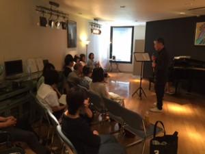 イベントスペースでの発表会3