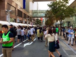 福岡市天神のきらめき通り