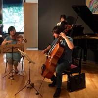 ピティナステップ ピアノ三重奏リハーサル