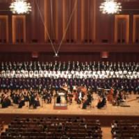 約270名の大合唱団